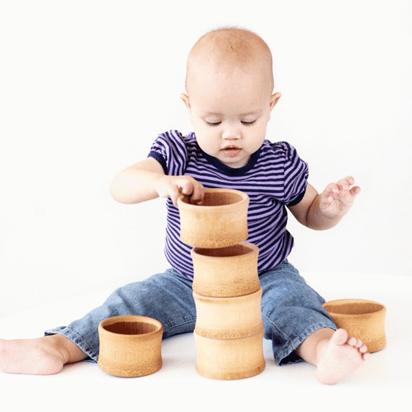 Organic Bamboo Baby's First Bowl (1775762374717)