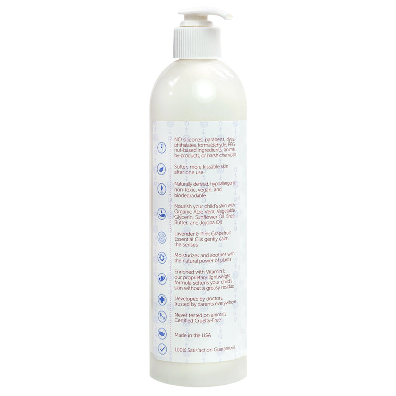 Organic Baby Lotion Backside (1765833211965)