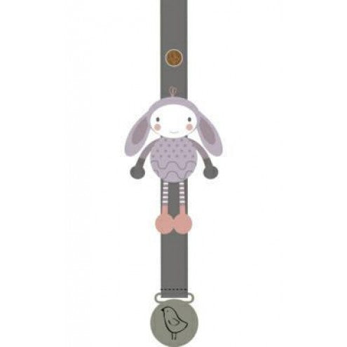 Bella the Bunny Pacifier Holder