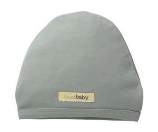 Organic Cotton (GOTS) Newborn Cap | Sea Foam (4355207102525)