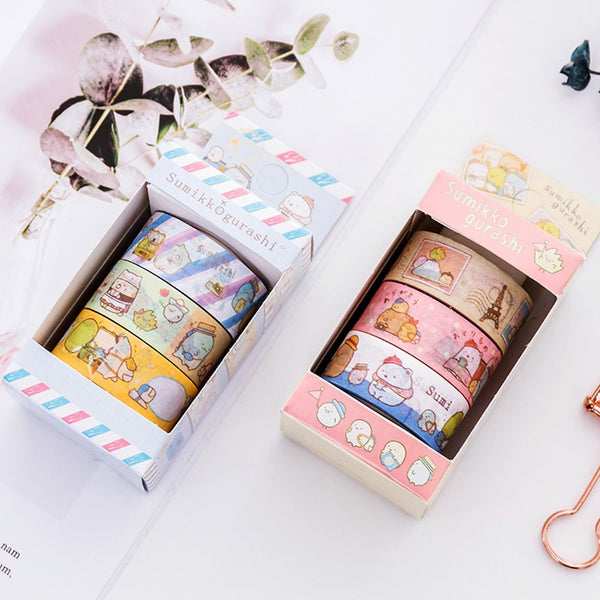 Character Washi Tape - Blue Tape (4353001127997)