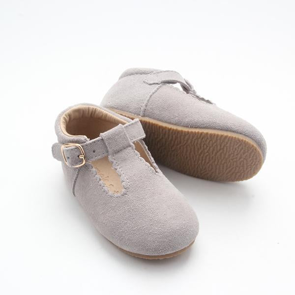 Cloud Gray Taylor TBars Shoes (4361109307453)