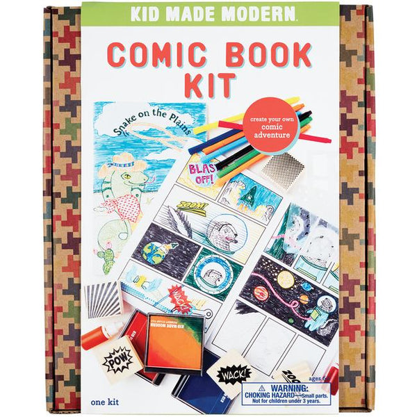 Kids Made Modern Comic Book Kit (1817518571581)