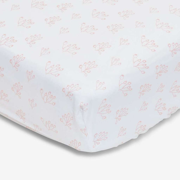 100% Organic Cotton Crib Sheet