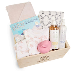 1Y Development Box | Bath Time for Girls