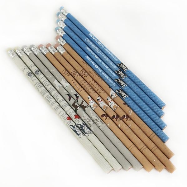 Dog Wooden Pencils (1846936469565)