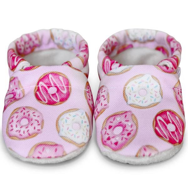 Pretty in Pink Baby Shoes