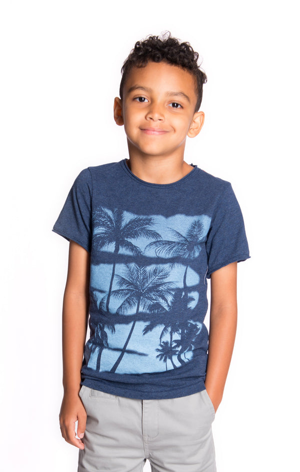 Palms Tee For Boy