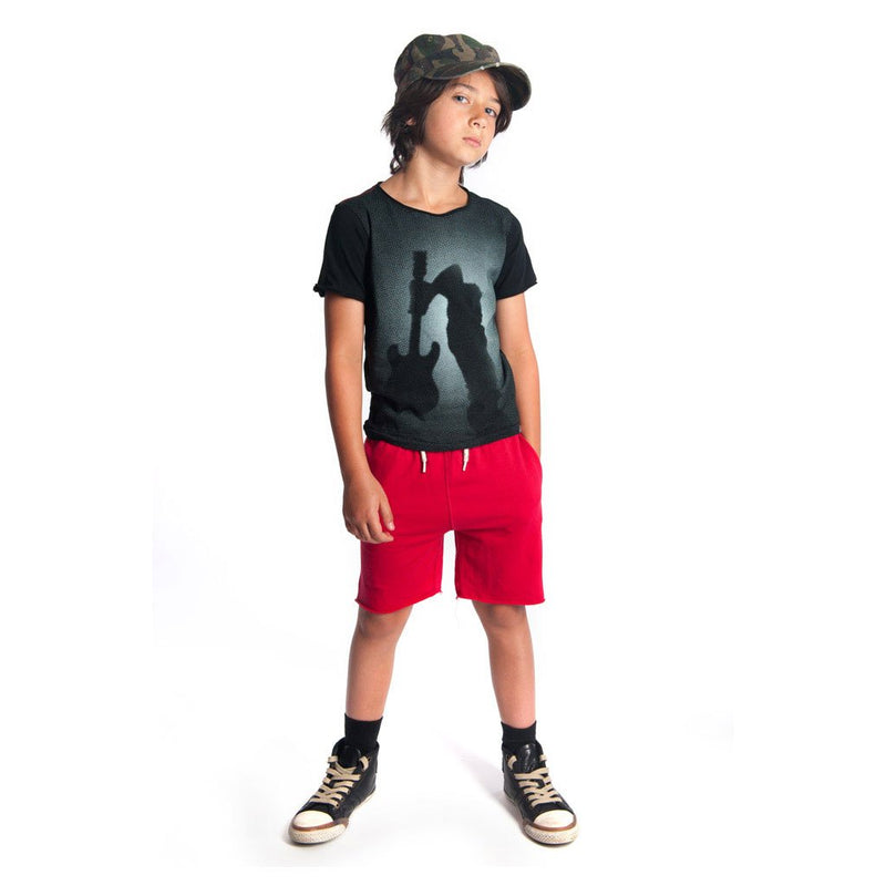 Appaman Spring Rockstar Black tee for Boys