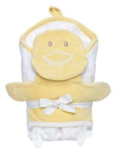 Hooded Towel and Duck Wash Cloth