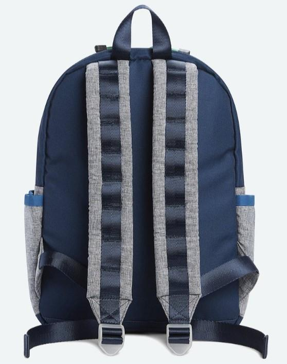 Kane Backpack - Navy Heather Gray (4353292763197)