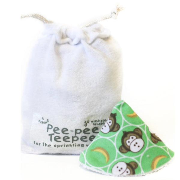 Little Monkey Green Pee-Pee Tee Pee