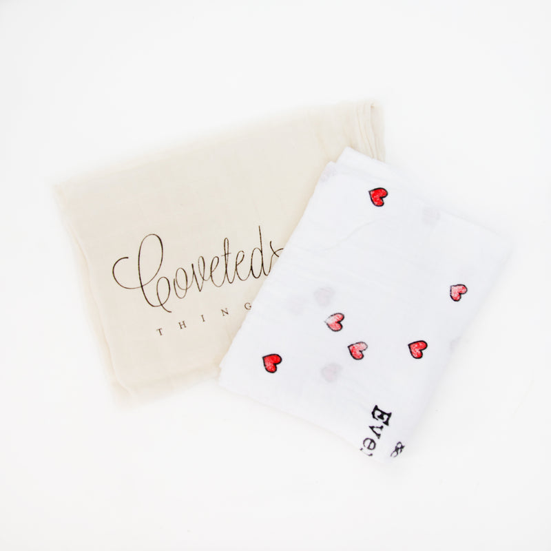 Organic Love You Forever & Ever Swaddle Scarf