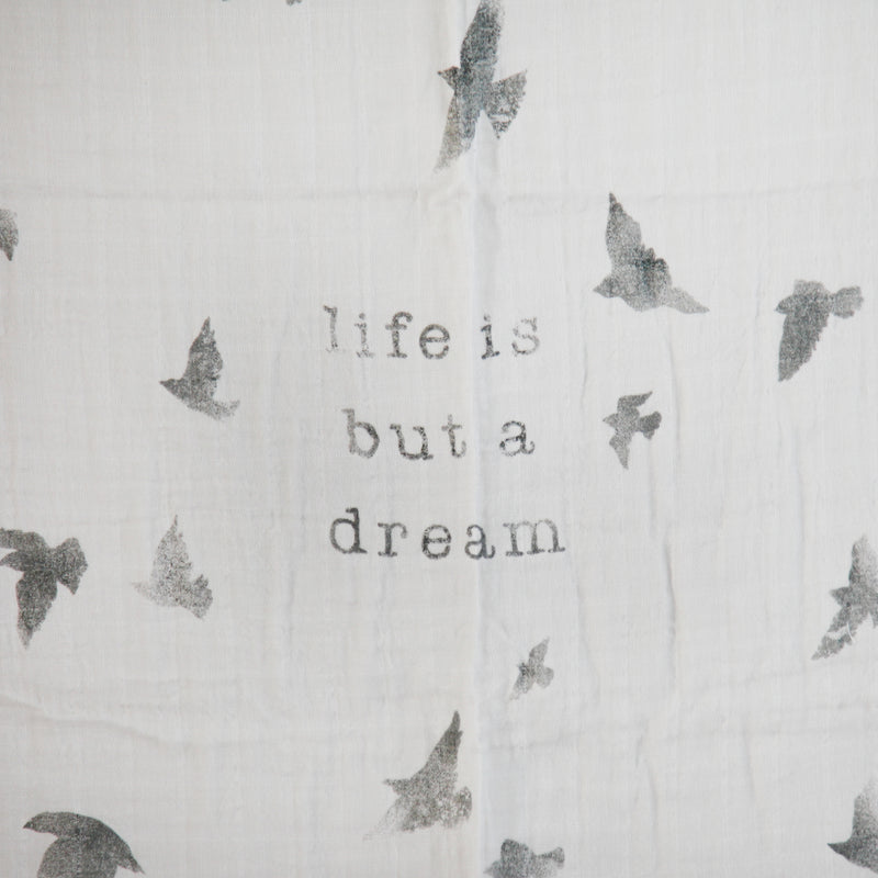 Life is but a Dream Swaddle Scarf (1496376737853)