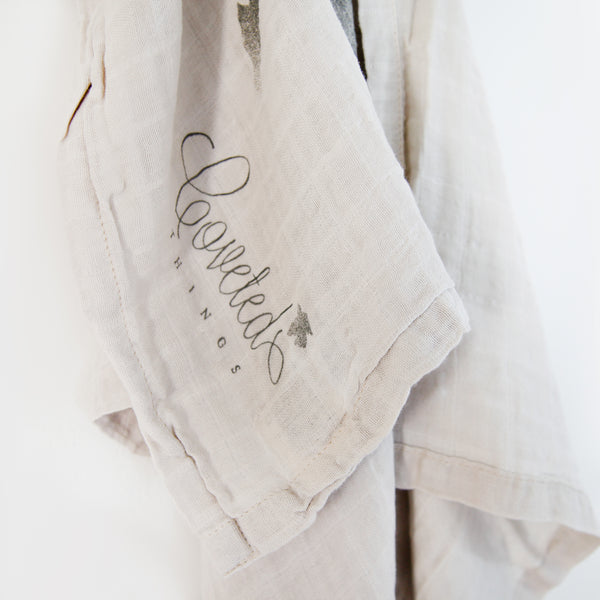 Organic Life is but a Dream Swaddle Scarf (1496376737853)