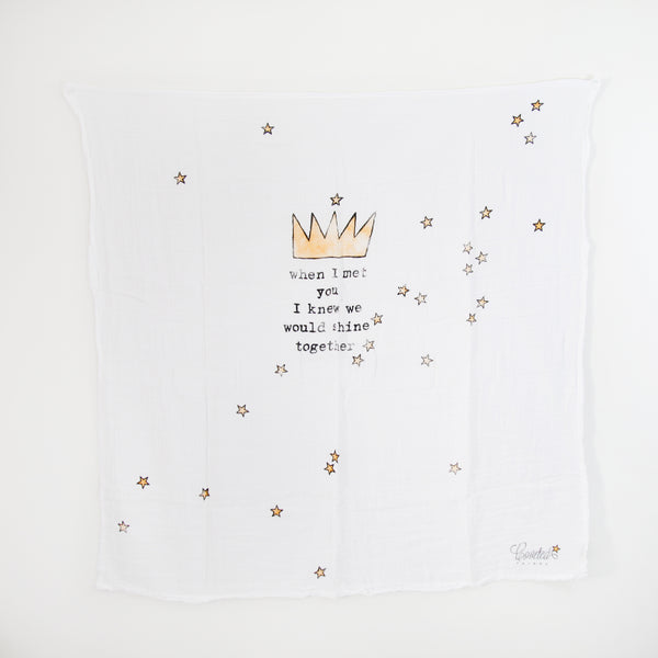 Organic Crown Swaddle Scarf (1496339644477)