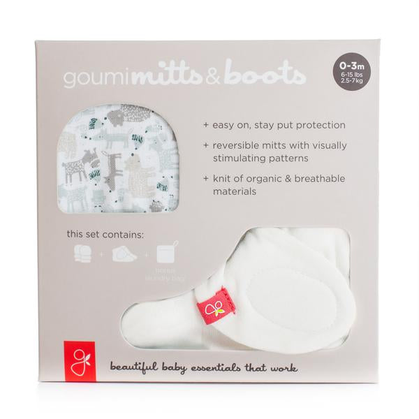 Forest Friends goumi Mitts and Boots Bundle