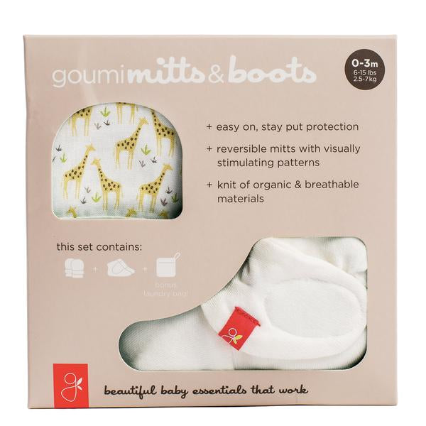 On Safari Goumi Mitts and Boots Bundle