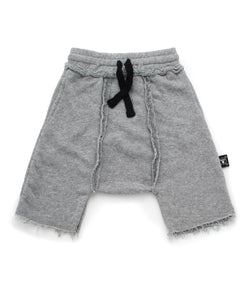 Heather Gray Harem Sweatshorts (4366156955709)