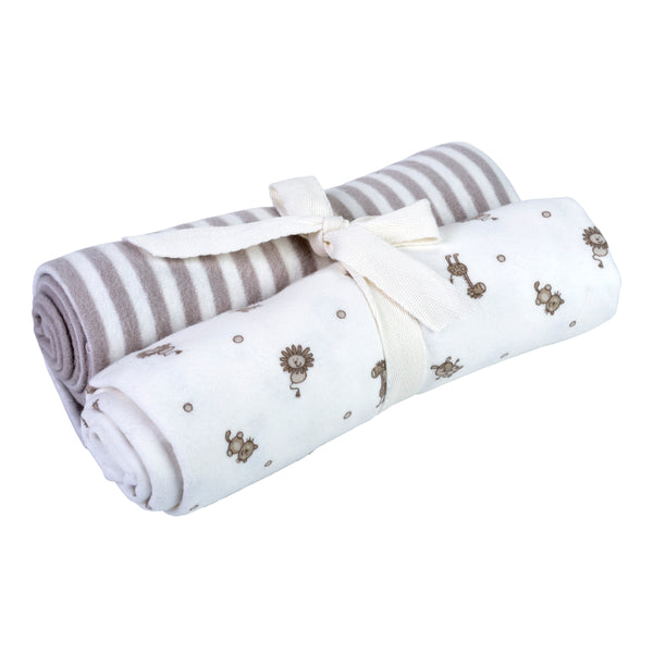 Animal Print and Stripe Swaddle Blankets - SOOJIN baby shop (728369135677)