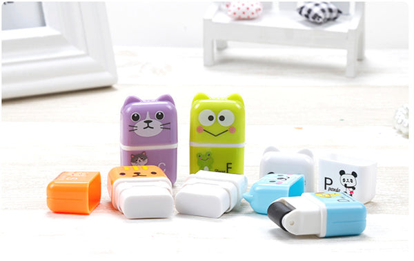 Roller Eraser Animals