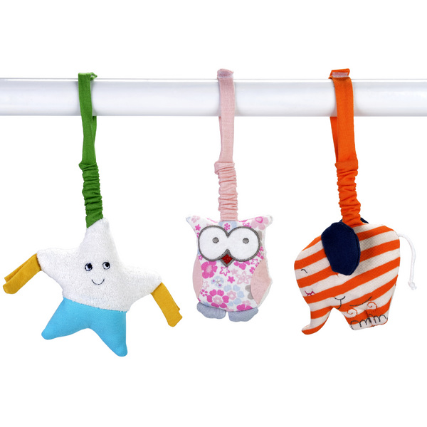 Organic Stroller Toys | Star and Owl - SOOJIN baby shop