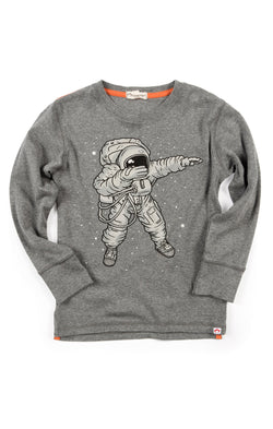 Light Gray Heather Space Dab Graphic Tee (1812916338749)