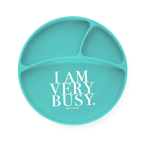 I Am Very Busy Wonder Plate (4361173336125)