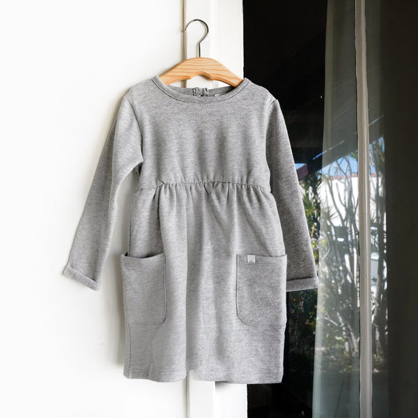 Organic Long-Sleeved Dress