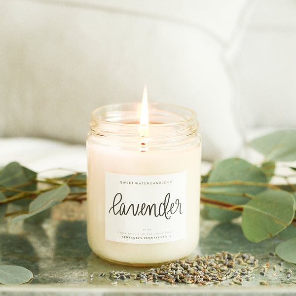 Lavender Soy Candle - SOOJIN baby shop