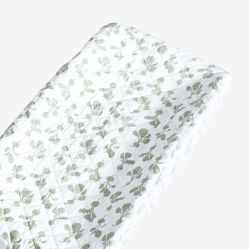 100% Organic Cotton Changing Pad Cover