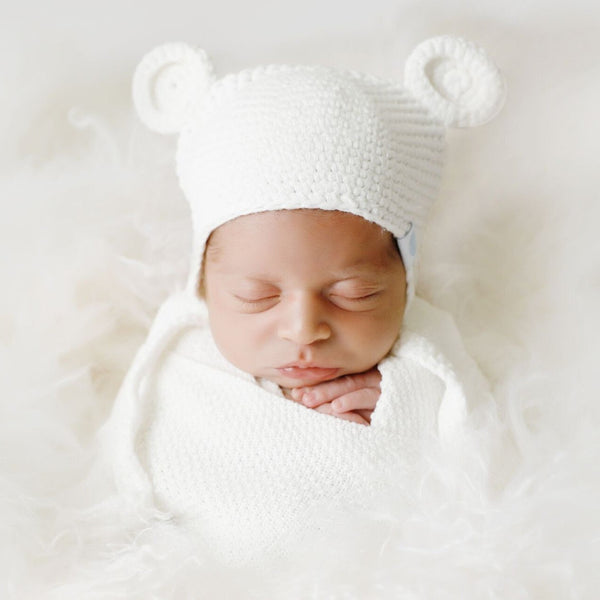 Crochet Bear Toque - SOOJIN baby shop