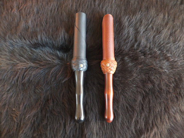 Leather baton by Viktoria Creations, BDSM