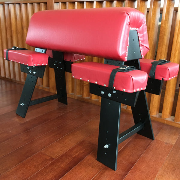 Red spanking bench - adult furniture