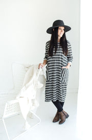 Cozy Holiday French Terry Dress | S-L
