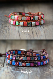 Boho Double Wrap Bracelet | 2 colors