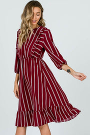 Burgundy Jocelyn Dress | S-L