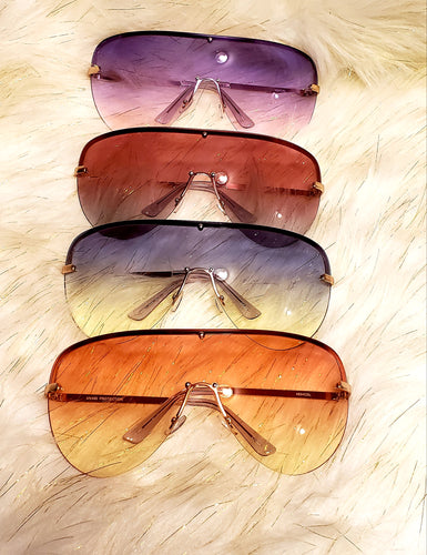 Chic bubble shades