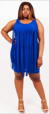 Royal Blue Cleo Dress
