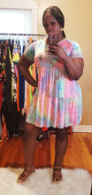 Tye Dye babydoll dress