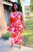 Mercury tye dye maxi dress