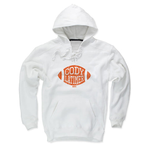 Mens Lace Hoodie White