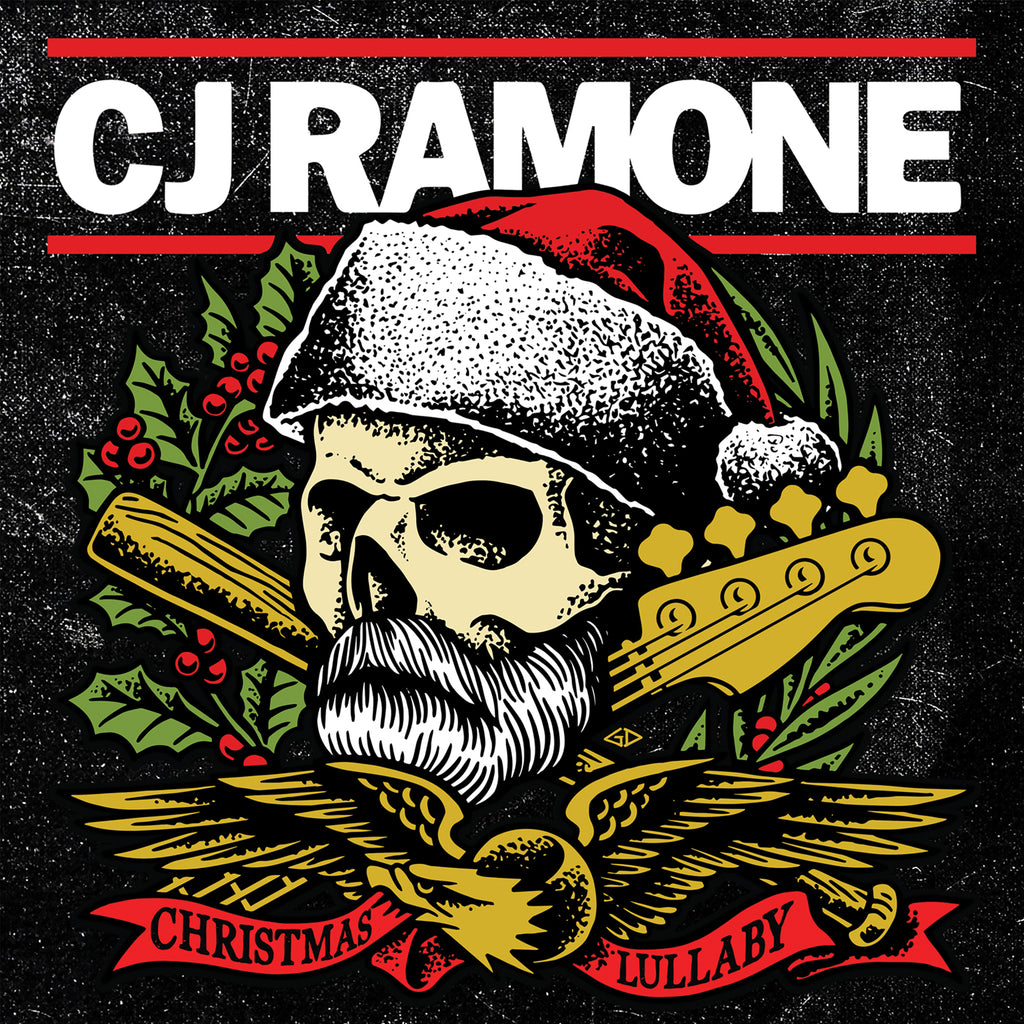 CJ Ramone – Christmas Lullaby OUT NOW! Stream it on all digital services!