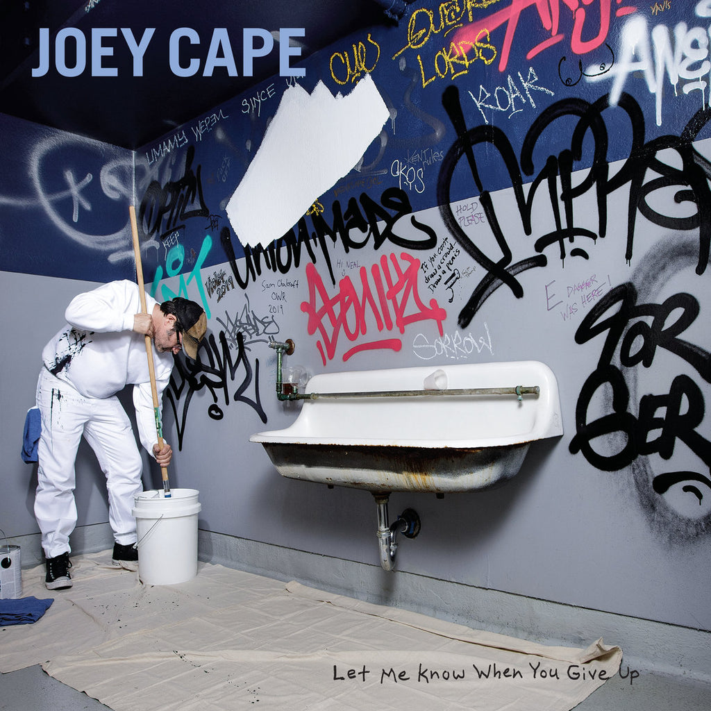 Joey Cape - Let Me Know When You Give Up OUT TODAY!