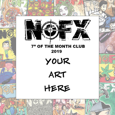 Nofx 7 Of The Month Club 2019 Fat Wreck Chords