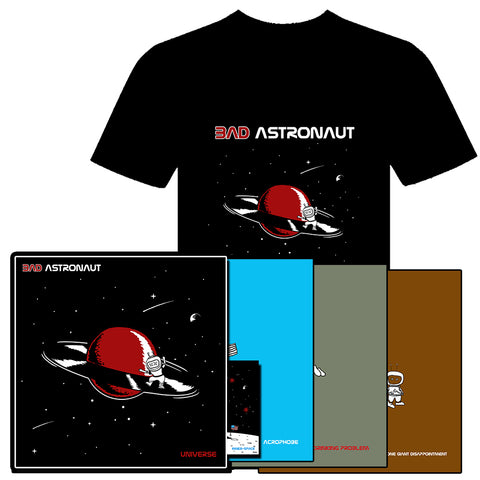Bad Astronaut - Universe (BOX SET) + T-SHIRT BUNDLE