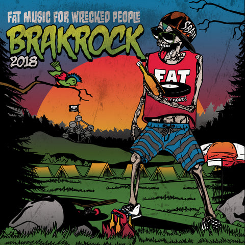 Fat Music For Wrecked People: Brakrock 2018