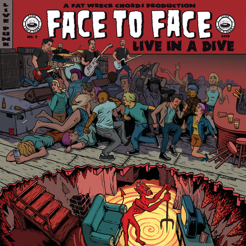 Live in a Dive: face to face