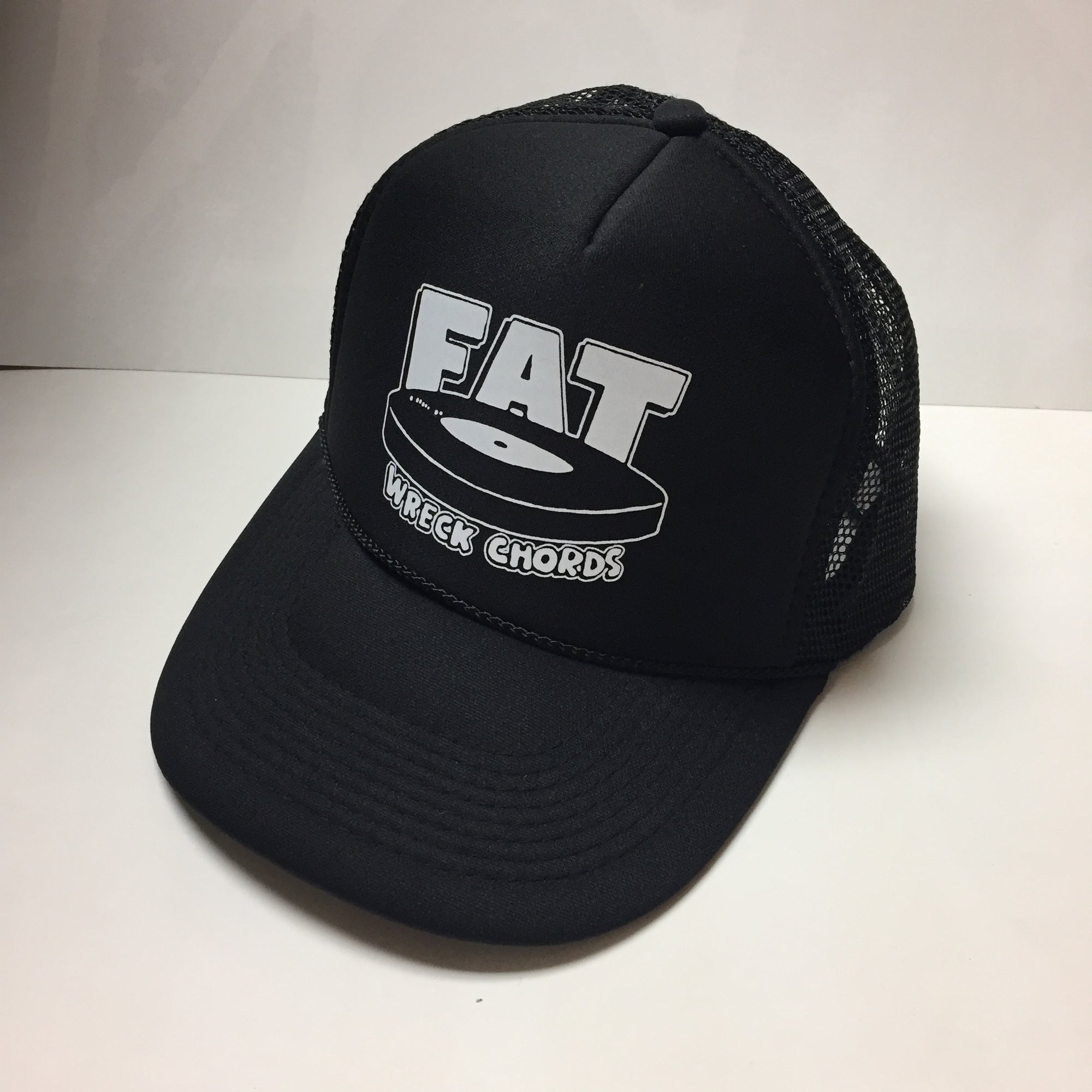 Fat Trucker Hat (BLACK)