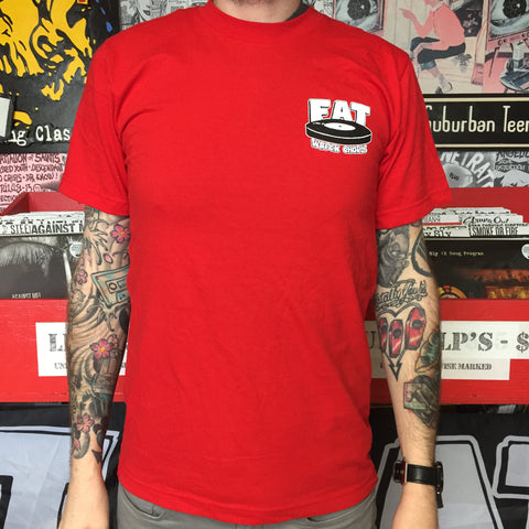 Fat Logo Shirt RED